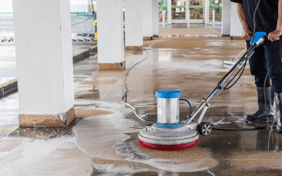 locação de equipamentos de limpeza